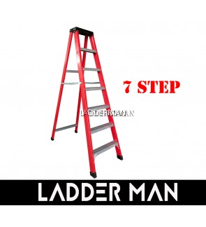 7 STEP FIBERGLASS SINGLE SIDED LADDER