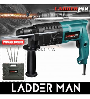 GBH 2-20 750W Ladderman 20mm 2 Mode Rotary Hammer Drill Free Accessories