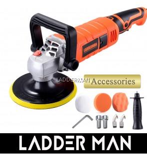 Ladderman LDM-9227 1650W 180mm Car Polisher Sander Floor Polishing with Buffer Pad