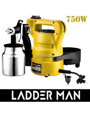 Ladderman LDM-008 750W 1000ML Electric Paint Spray Gun Kit Adjustable Copper Nozzle with Aluminium Container
