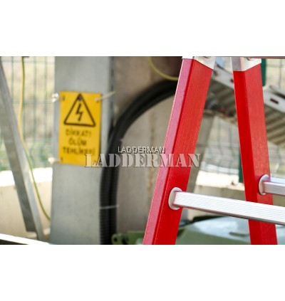 Fiberglass Heavy Duty 12 Step 3.5 Meter Multipurpose Ladder ( FAZ-4X3 )