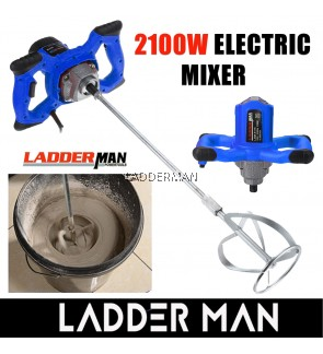 LDM-5115 LADDERMAN 2100W Electric Paint Mixer Blender Power Tools Paint Mixer Cement Mixer 2100W With 6 Speed Control