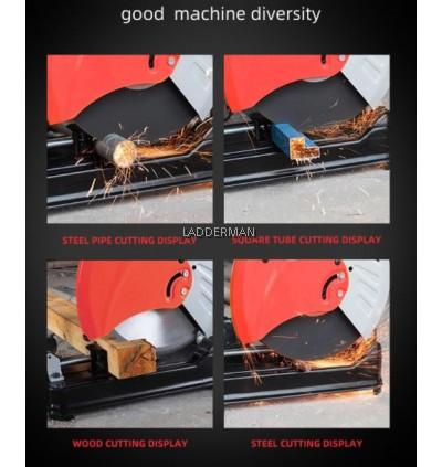 LDM-MTS255 Mitre Saw 10 Inch 255mm 1800W 220V Wood Cutting Machine Mesin Potong Kayu High Speed